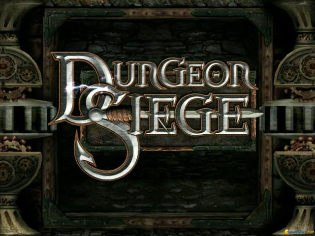 Dungeon Siege - title cover