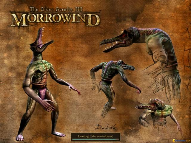 The Elder Scrolls III: Morrowind - title cover