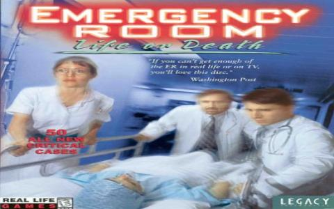 Emergency Room: Life or Death - title cover