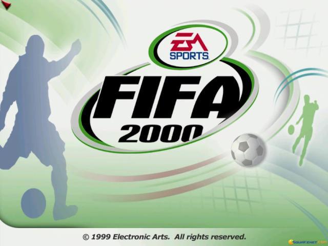FIFA 2000 - title cover
