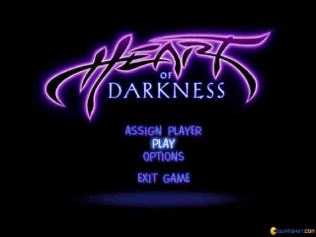Heart of Darkness - game cover