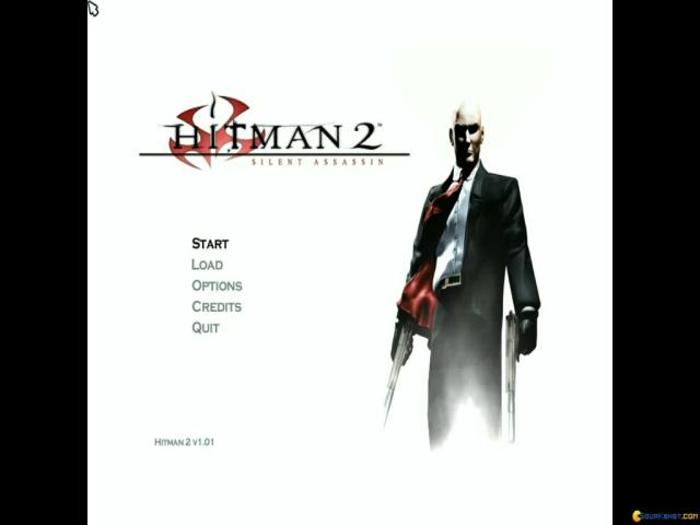 Hitman 2: Silent Assassin - title cover
