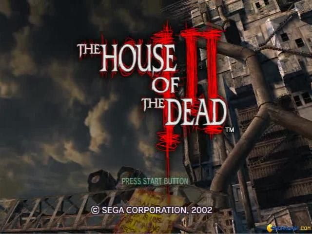 The House of the Dead 3 - title cover