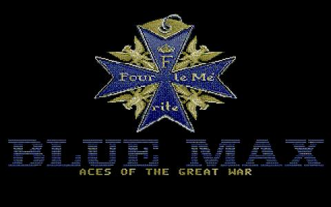 Blue Max: Aces of the Great War - title cover