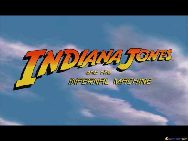 Indiana Jones and the Infernal Machine - title cover