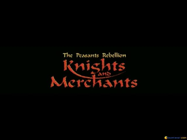 Knights & Merchants: The Peasants Rebellion - title cover