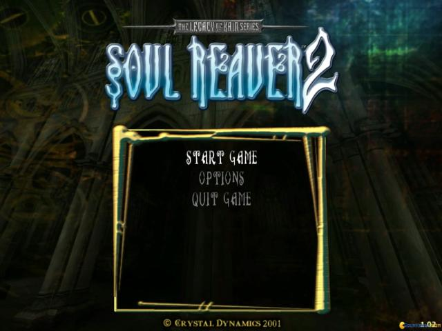 Legacy of Kain: Soul Reaver 2 - title cover