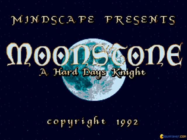 Moonstone - game cover