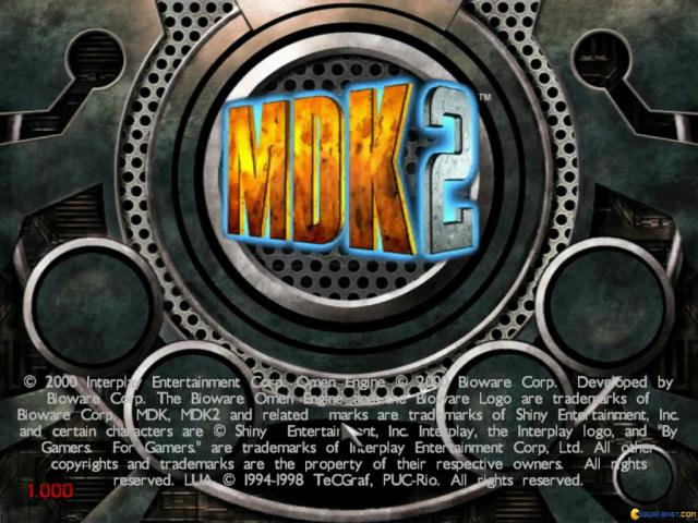 MDK 2 - game cover