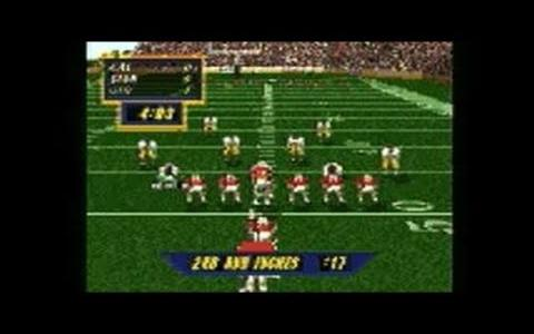 NCAA Football 98 - title cover