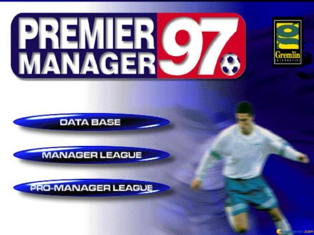 Premier Manager 97 - title cover