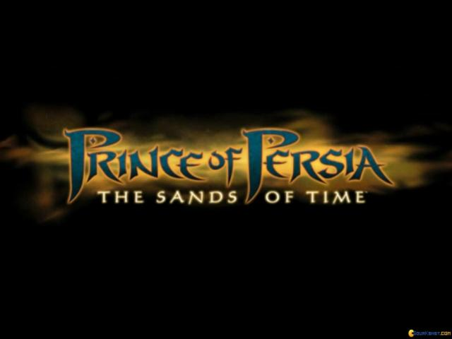 Prince of Persia: The Sands of Time - title cover