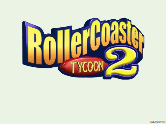 RollerCoaster Tycoon 2 - game cover