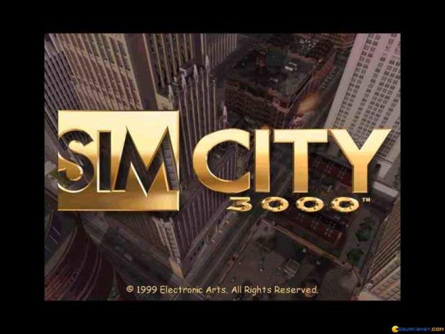 SimCity 3000 - game cover