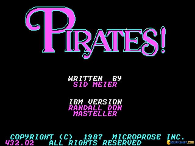 Pirates - game cover
