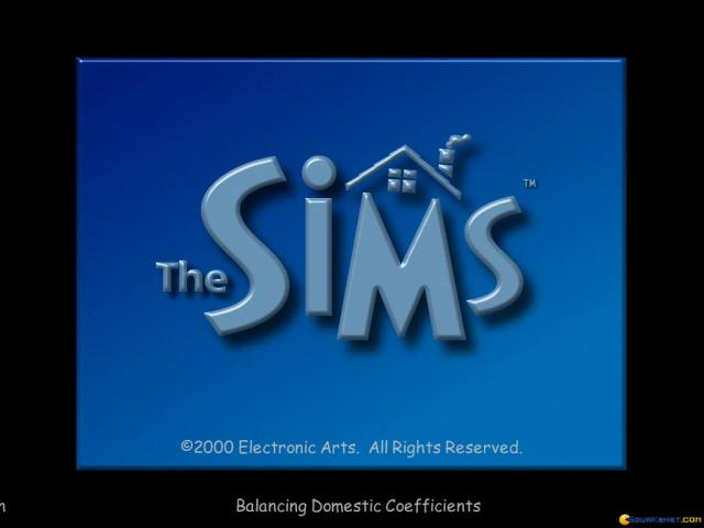 The Sims - title cover
