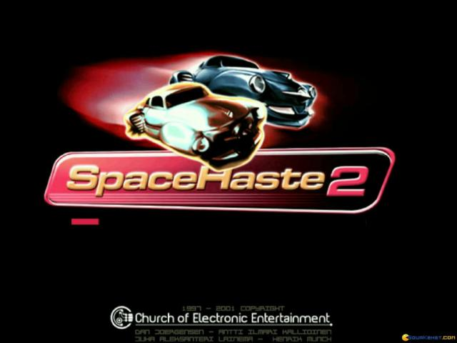 Space Haste 2 - title cover