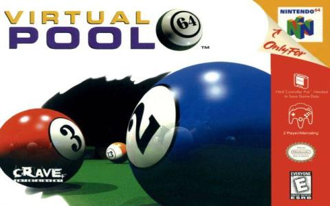 Virtual Pool 2 - title cover
