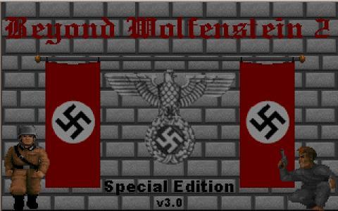 Beyond Wolfenstein 2 - title cover