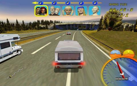 Vakantie Racer - game cover