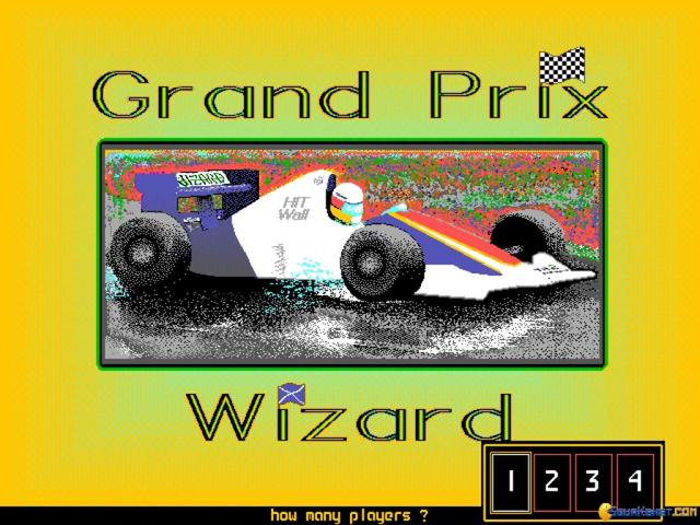 Grand Prix Wizard - title cover