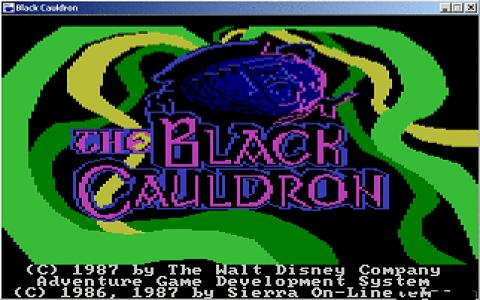 Cauldron Remake - title cover