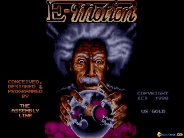 E-Motion - title cover