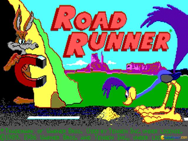 Road Runner - game cover
