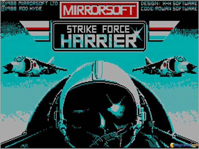 Strike Force Harrier - game cover