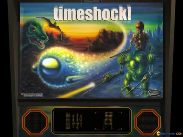 Pro-Pinball: TimeShock! - title cover
