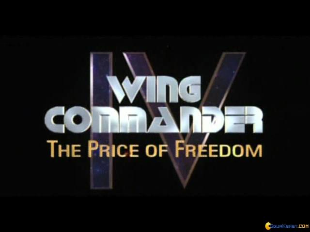 Wing Commander 4: The Price of Freedom - title cover