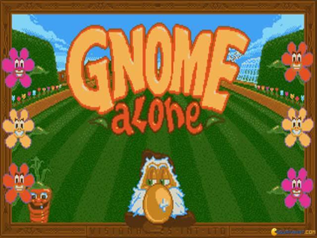 Gnome Alone - title cover