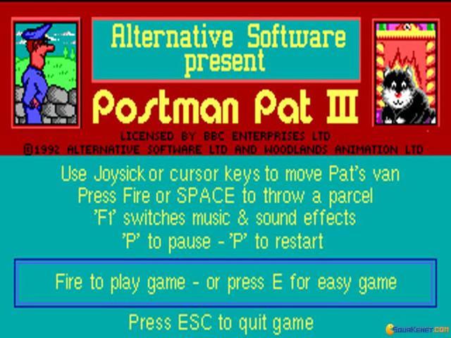 Postman Pat III - title cover