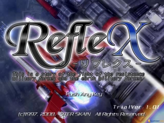 RefleX - game cover