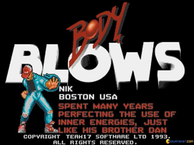 Body Blows - title cover