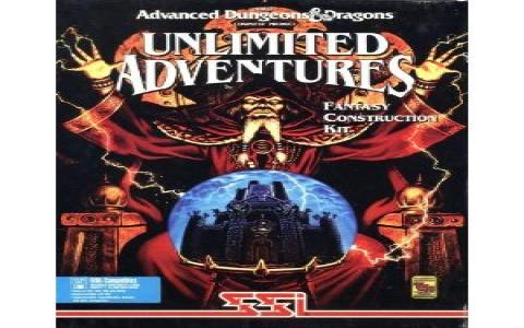 Advanced Dungeons And Dragons: Unlimited Adventures - title cover