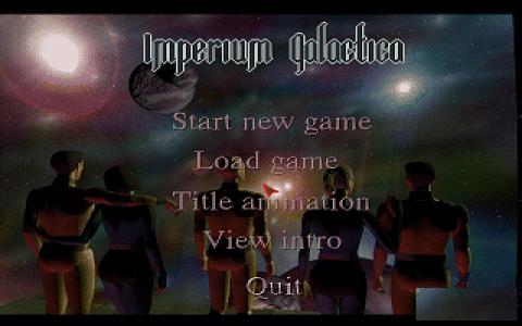 Imperium Galactica - title cover