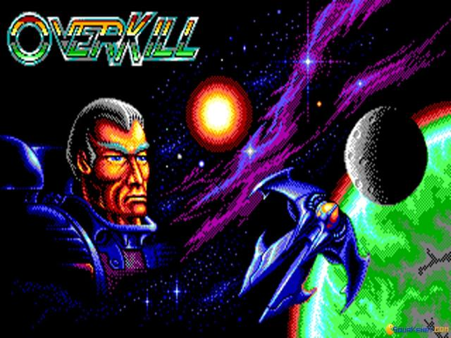 OverKill - The Six Planet Mega-Blast - game cover