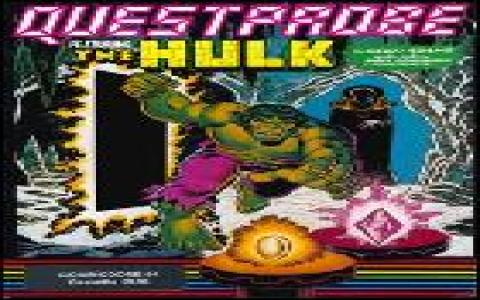 Questprobe Featuring The Hulk - title cover