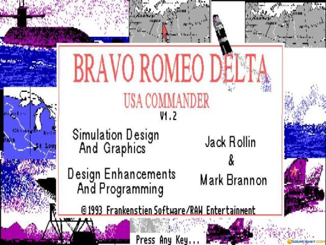 Bravo Romeo Delta - game cover
