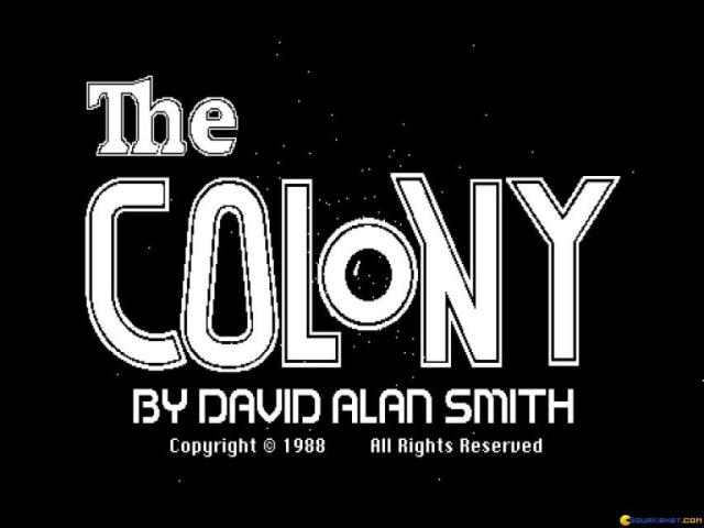 Colony, The - game cover
