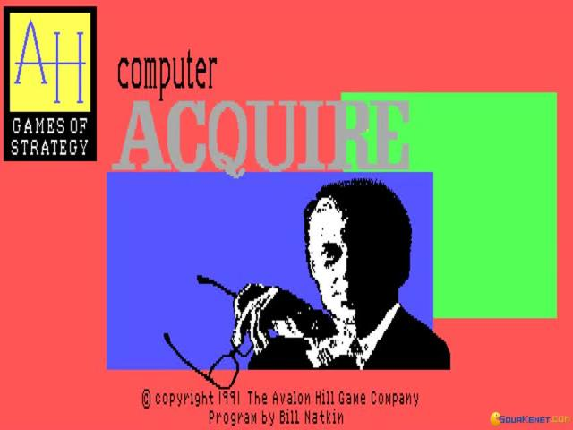 Computer Acquire - game cover