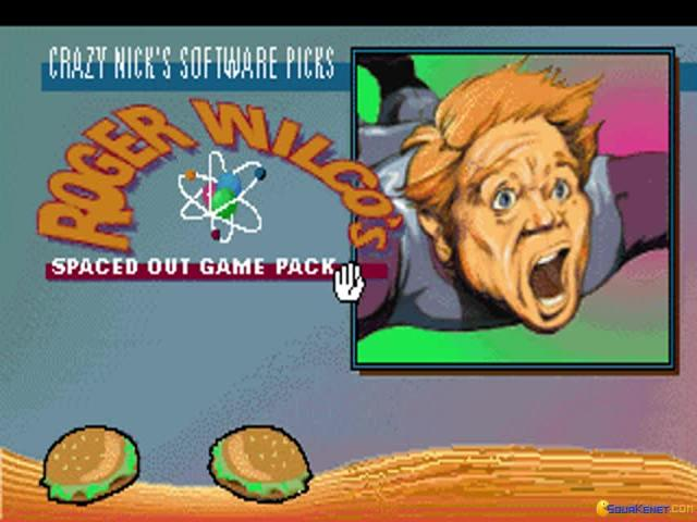 Crazy Nick's Pick: Roger Wilco's Spaced Out Game Pack - game cover