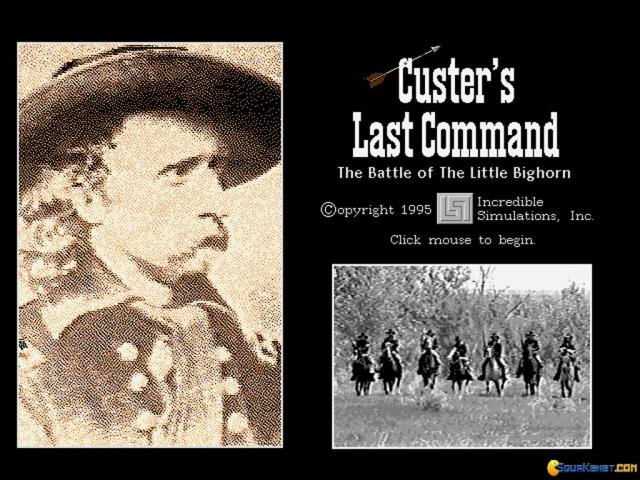 Custer's Last Command - title cover