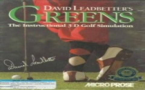 David Leadbetter's Greens - title cover