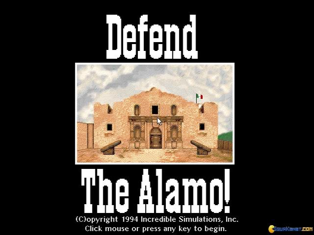 Defend The Alamo - title cover