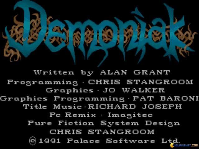 Demoniak - title cover