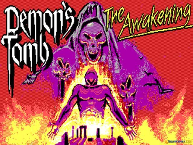 Demon's Tomb: The Awakening - title cover