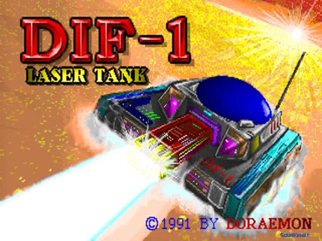 Dif-1 Laser Tank - title cover