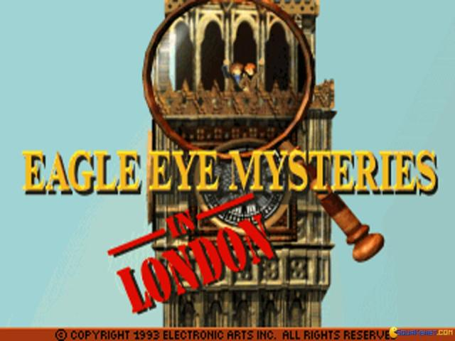 Eagle Eye Mysteries in London - title cover